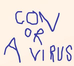 con or a virus